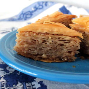 The Powerbar Of The Gods. A Recipe For Baklava.