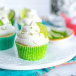 Margarita Cupcakes loaded with lime, tequila and salty goodness.