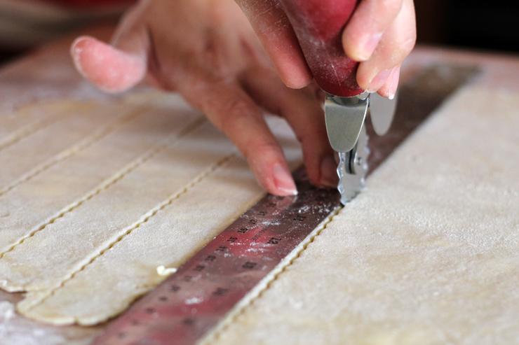 Pie Lattice Cut
