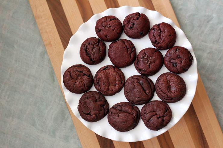 Red Velvet Cookies Aerial