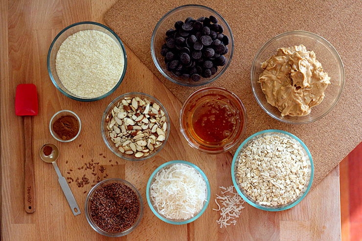 Energy Balls Ingredients