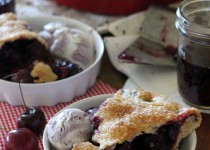 Cherry Berry Pinot Birthday Pie Recipe