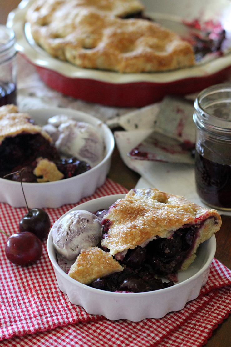 Cherry Berry Pinot Pie