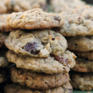 Pioneer Cookies: Packed With Oatmeal, Chocolate Chips, Coconut and Pecans