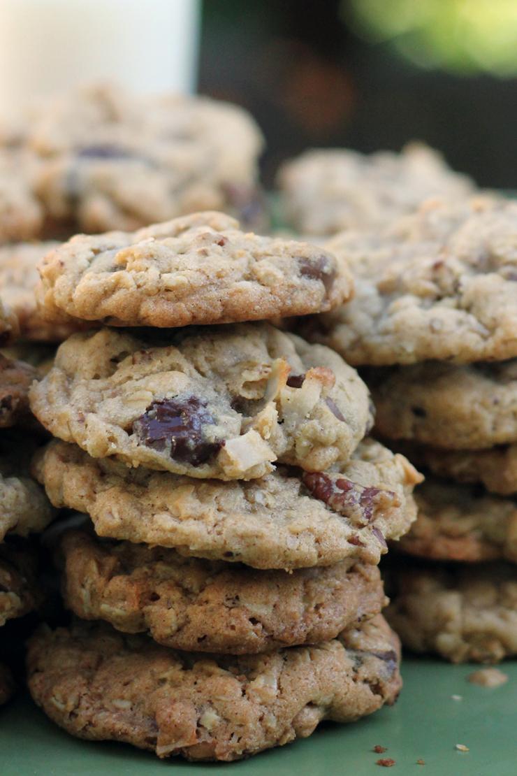 Pioneer Cookies Stacked