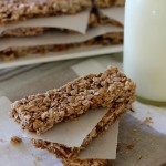 Maneater, A Recipe for Maple Nut Granola Bars