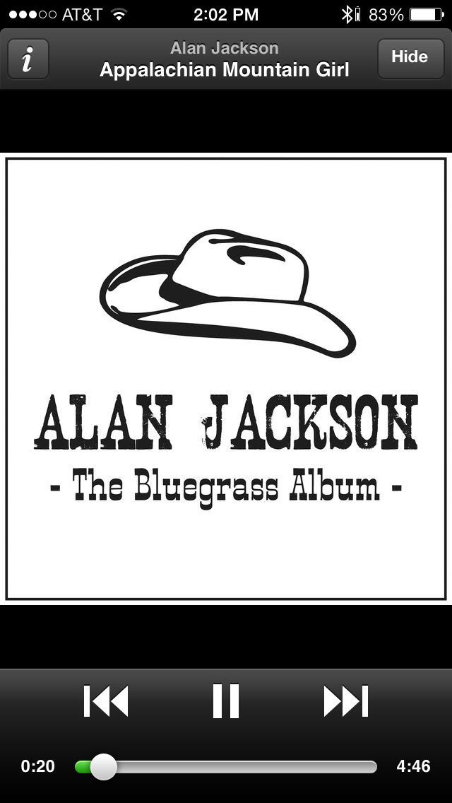 Alan Jackson has a special little country cabin inside my heart.