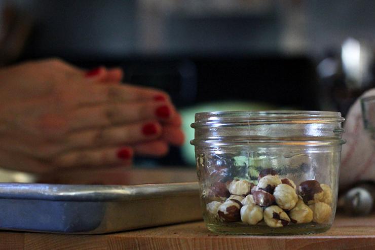 Oregon Trail Cookies Filberts Peeled