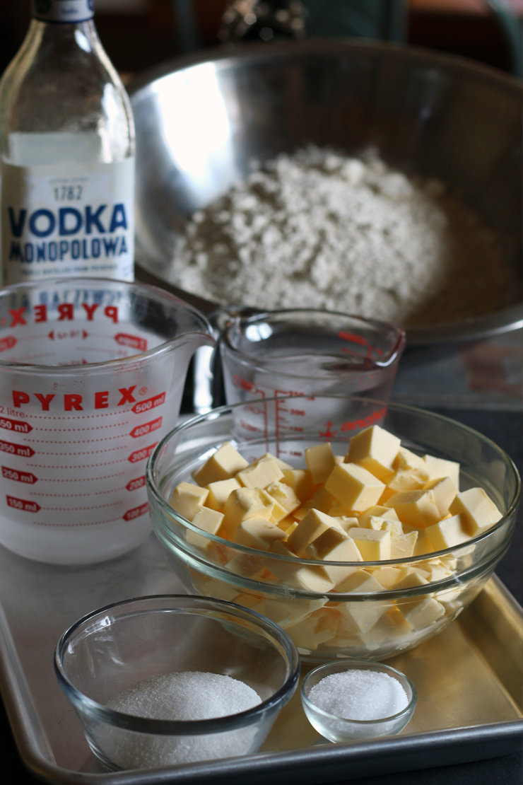 All butter vodka pie crust ingredients
