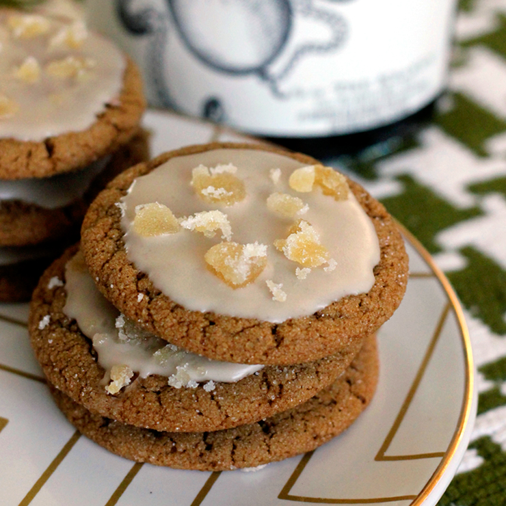 A Dark N Stormy Night A Recipe For Ginger Molasses Cookies With