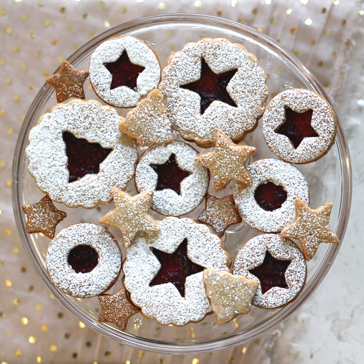 ... Cookies, A Recipe for Raspberry Pinot Noir Linzer Cookies - Baking the