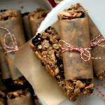 Vegan Gluten Free Almond Cherry Cacao Nib Granola Bars Recipe