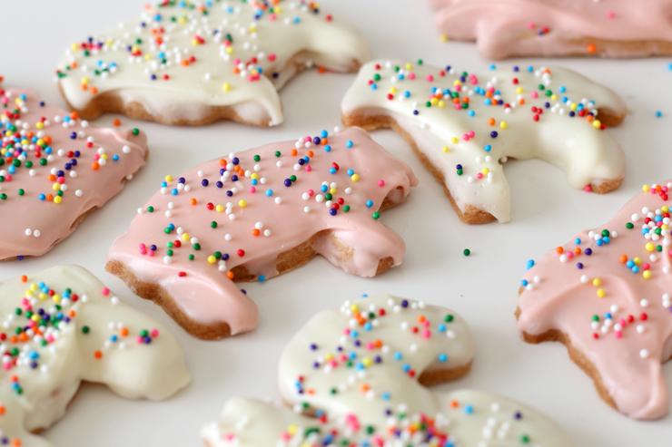 Animal Cookies Close Up