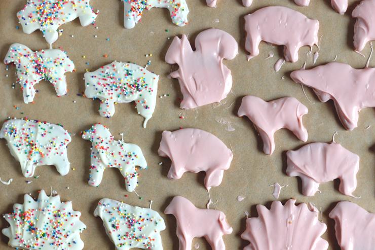 Animal Cookies Half N Half
