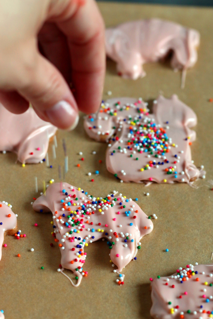 Animal Cookies Sprinkle Horse