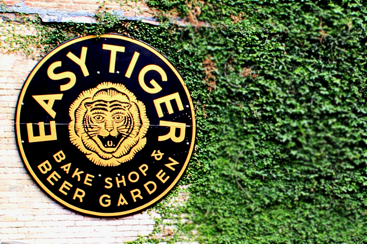Austin Easy Tiger Sign
