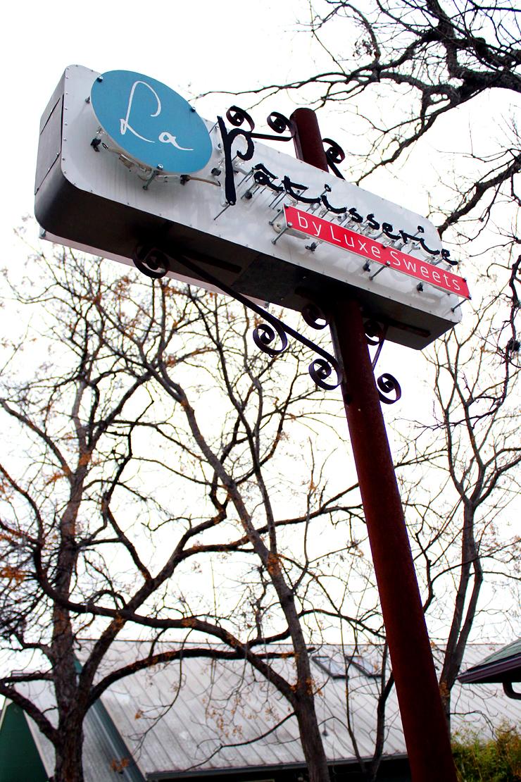 Austin La Patisserie Sign