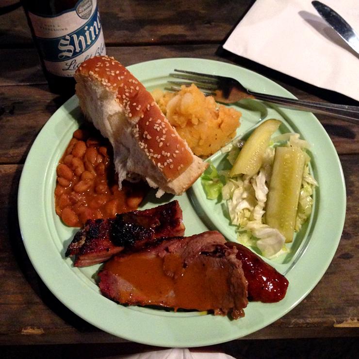 Austin Salt Lick Plate