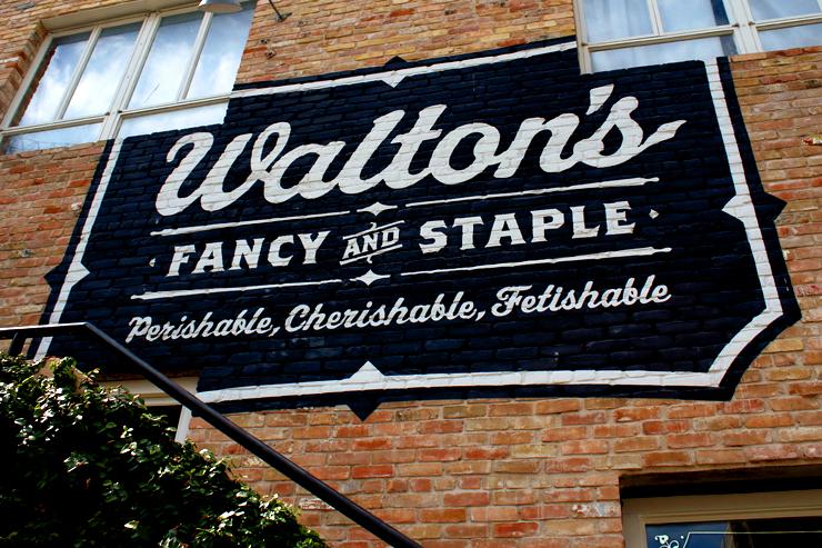 Austin Waltons Sign