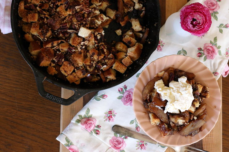 Apple Brown Betty Aerial