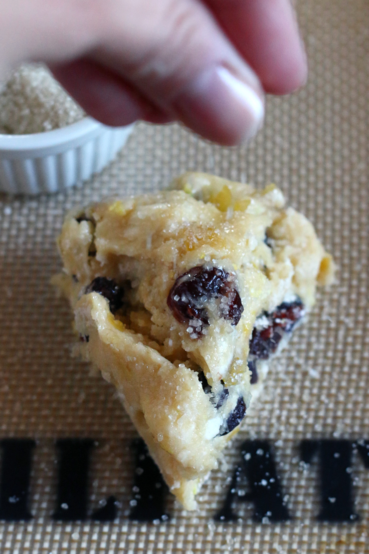 Sour Cherry And Walnut Scones Recipes — Dishmaps