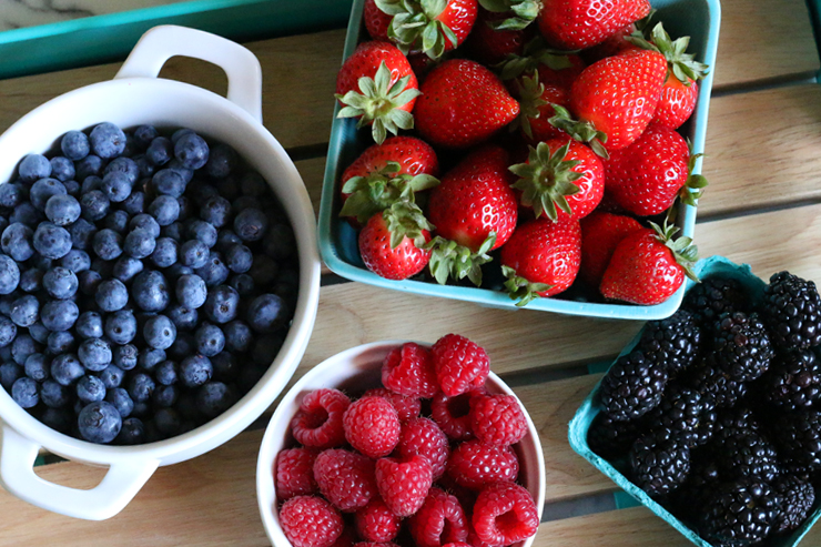 Berry Blitz Torte Berries