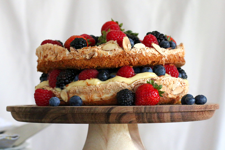 Berry Blitz Torte Straight