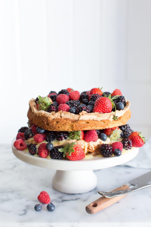 Blitze Berry Torte, what a beaut