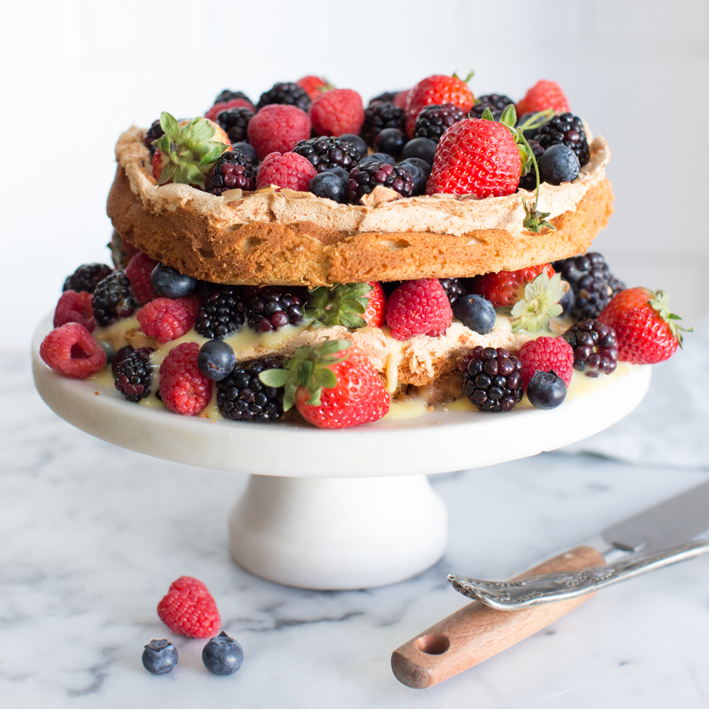 Blitz Berry Torte by Baking The Goods.