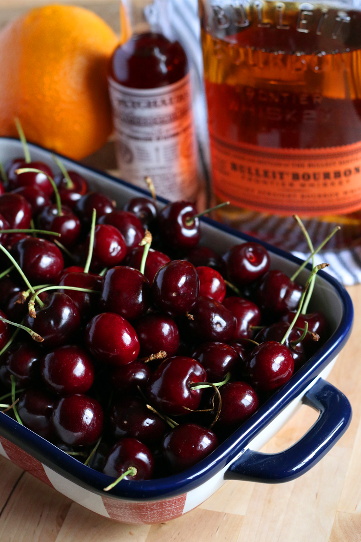Cherry Bourbon Pie Filling Ingredients