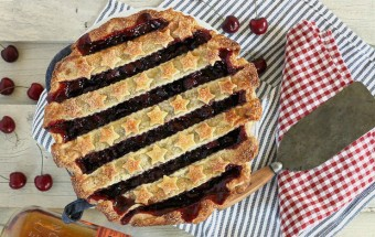 Cherry Bourbon Pie