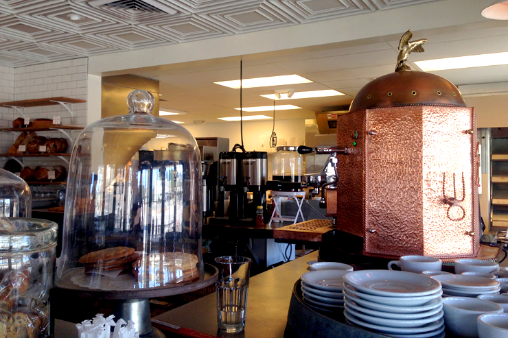 Coffee Urn at Bob's Well Bread