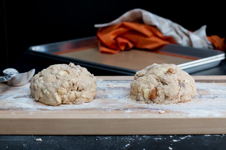 Persimmon Cinnamon Scones Dough