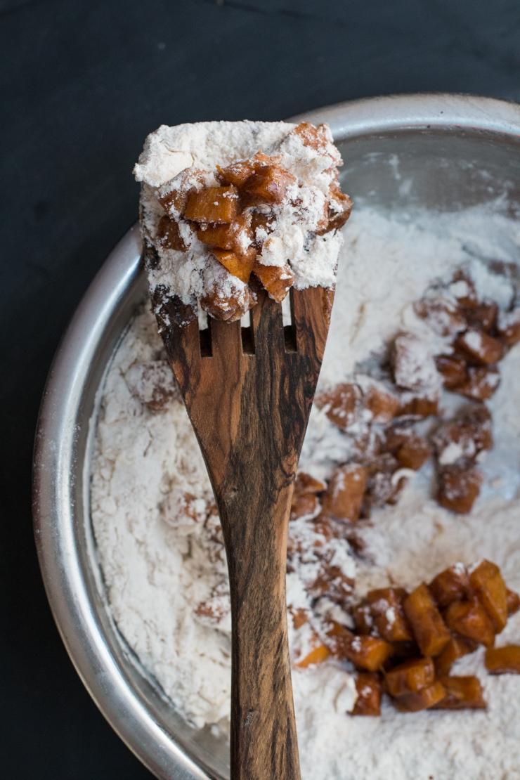 Persimmon Cinnamon Scones Fruit Flour