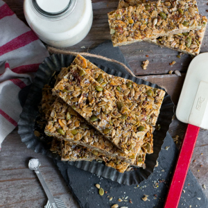 Seedy Adventure Granola Bars