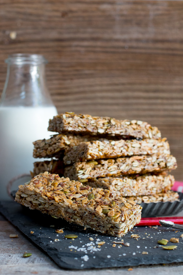 These Seedy Adventure Granola Bars are packed with energy.