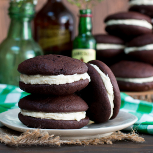 Irish Coffee Whoopie Pies