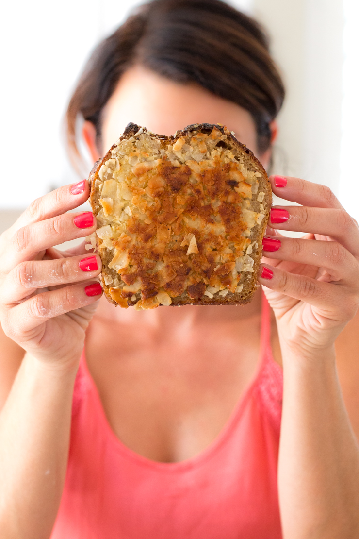Becky Sue with french toast - Toastface Killah