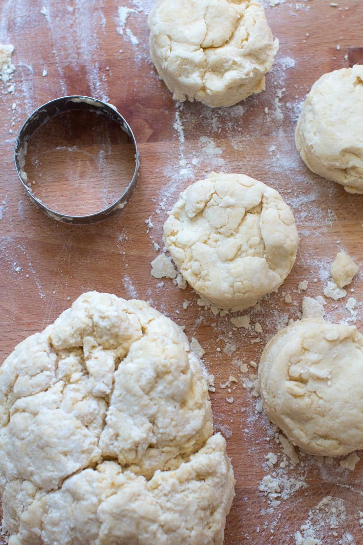 Huckleberry Jammer dough cut