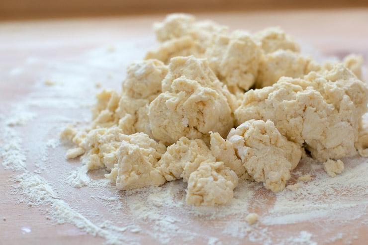 Huckleberry Jammer dough