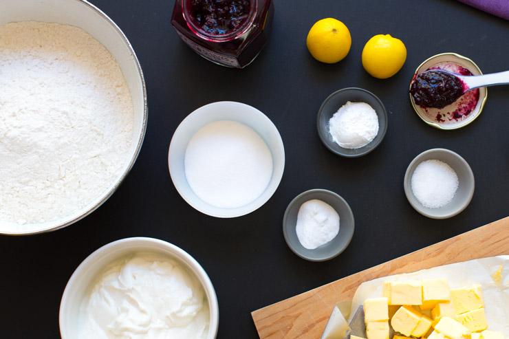 Huckleberry Jammers ingredients