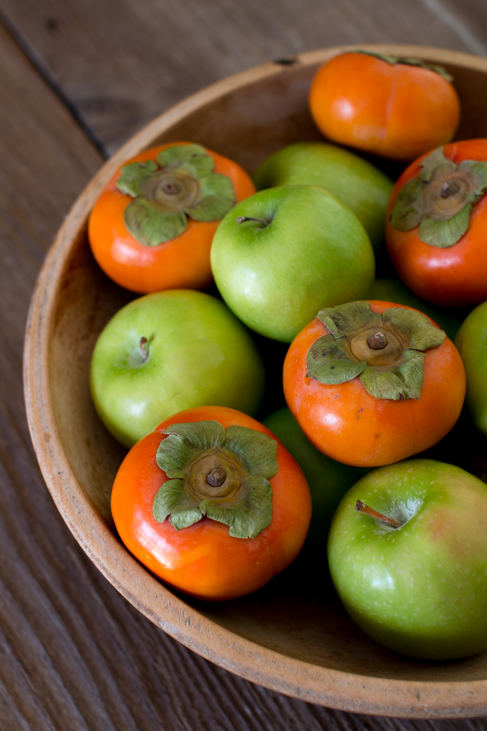 Apples and Persimmons