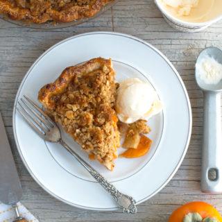 Apple Persimmon Pie