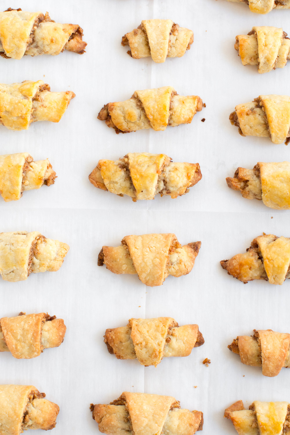 Maple Walnut Rugelach baked