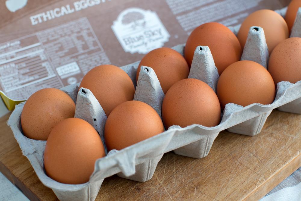 Blue Sky Farm Eggs