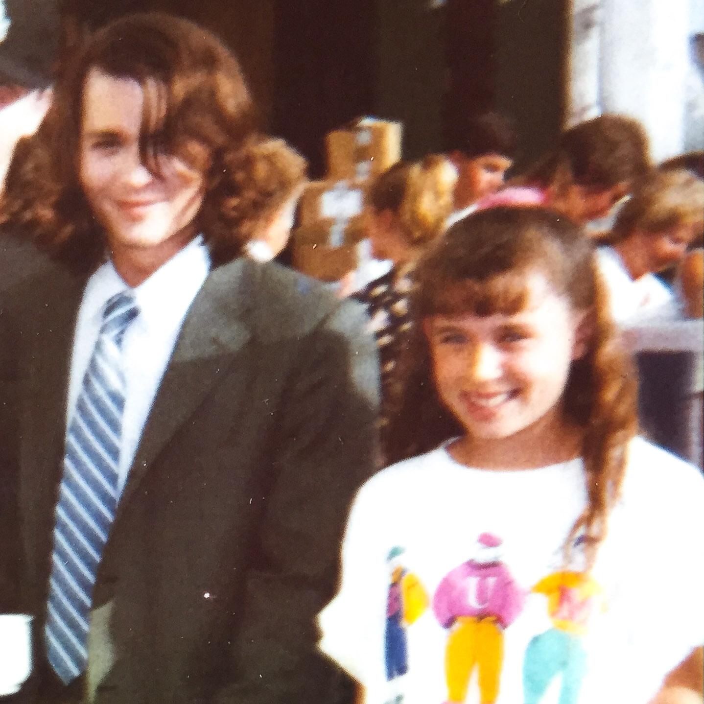 Me + Johnny Depp = <3