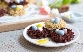 Chocolate Birds' Nests