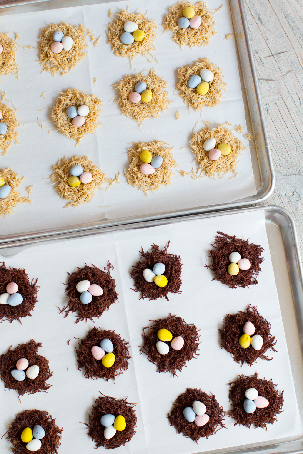 Chocolate Birds' Nests-8