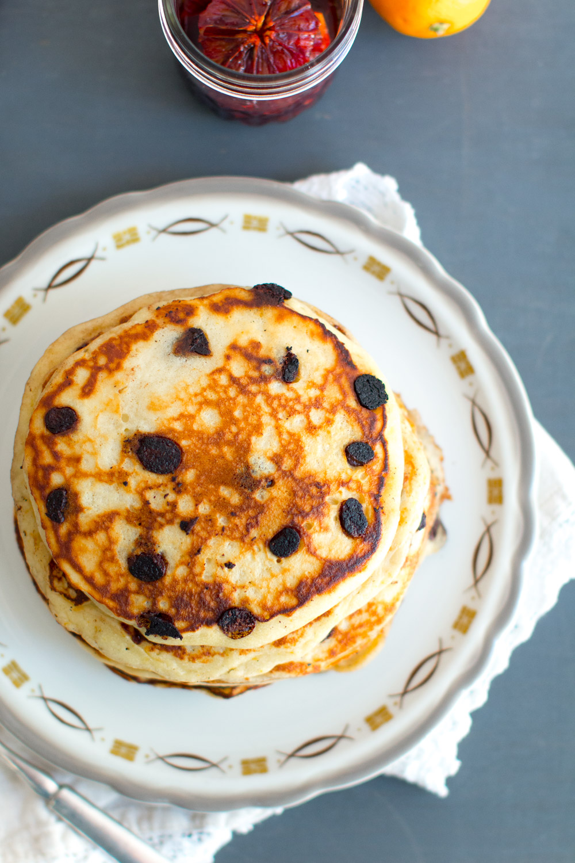Ricotta Chocolate Chip Pancakes