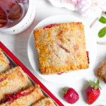 Strawberry Rhubarb Hand Pies with Pink Peppercorn Crust